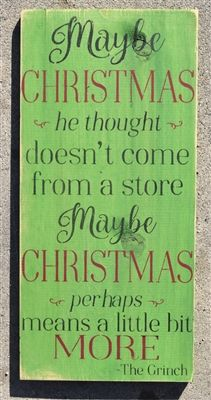 Maybe christmas he thought doesnt come from a store stencil two maybe christmas he thought doesnt come from a store reusable stencil product code 1855 scrappinalong stencil stencils craft crafts diy solutioingenieria Images