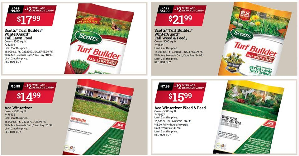 Fall is the best time to fertilize get all of your
