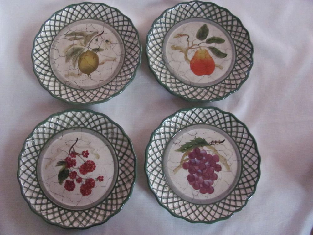 Certified International Raymond Waites -Cornucopia - Set of 4 Salad Plates #RaymondWaites & Certified International Raymond Waites -Cornucopia - Set of 4 Salad ...