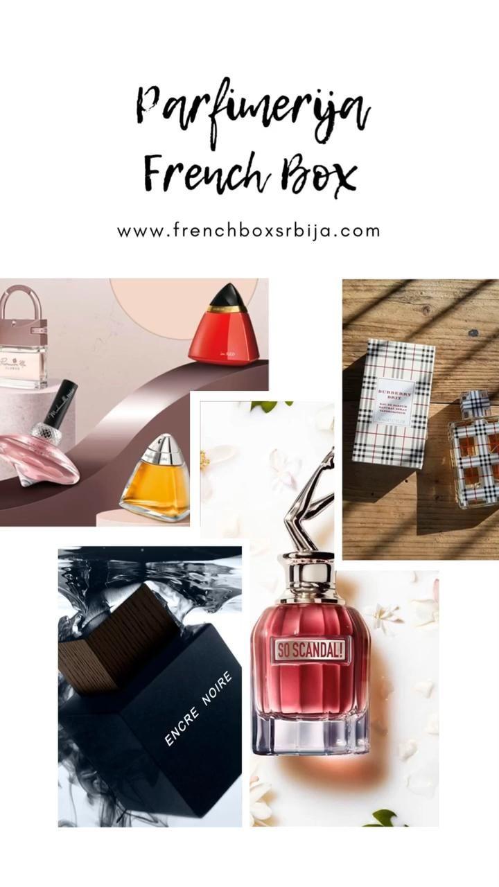 Originalni parfemi i kozmetika parfimerija French Box Jagodina #srbija #parfemi #parfum #parfumerie #serbia #jagodina #beograd #novisad