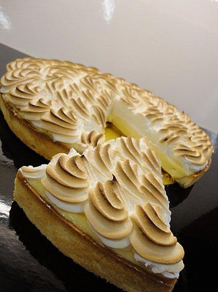 tarte au citron de pierre hermé (pour 10 p - pate sucree de c