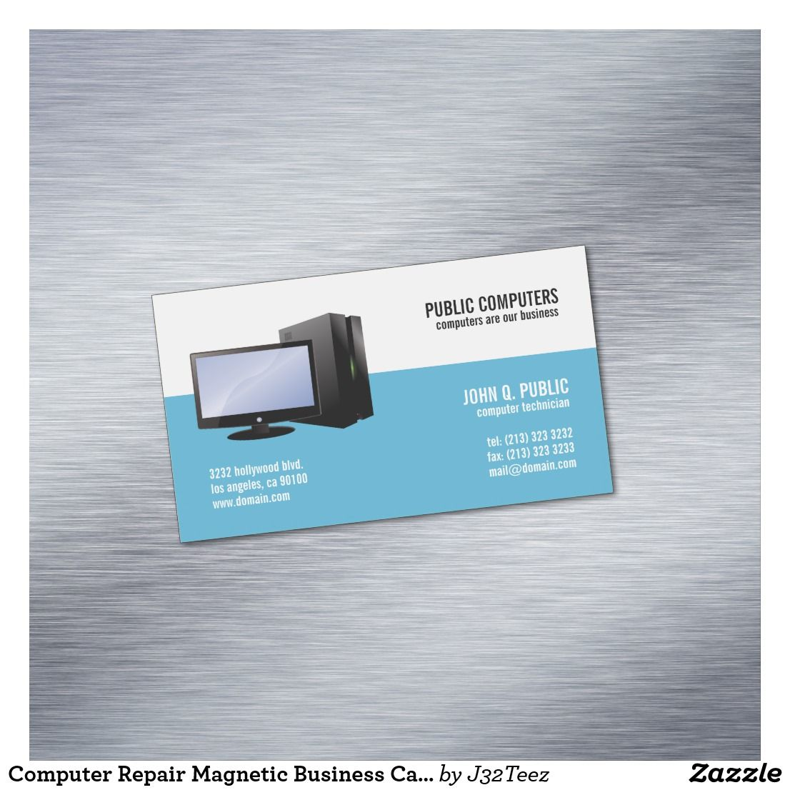 Awesome Business Cards Computer Repair Pictures Inspiration ...