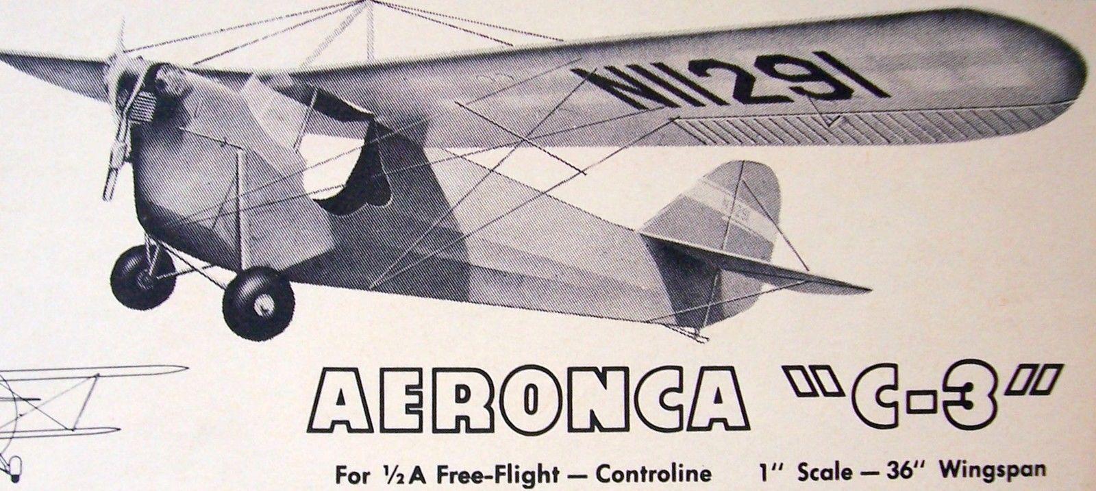 Vintage Aeronca C 3 36