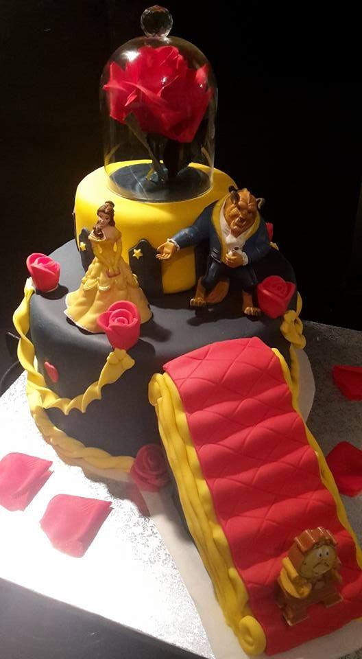 gâteau la belle et la bête (blog zôdio) | anniversaire | pinterest