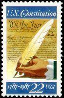 Reserved Custom Order for loreleigaus .. Custom order of 22c US Constitution Bicentennial Celebration. Sold on Etsy by TreasureFox