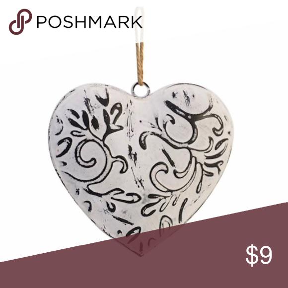Galvanized Rustic Heart Wall Art Galvanized Heart Ornament By Ashland Rustic Charm Wall Decor Nwt Perfect For Your Heart Wall Art Heart Wall Wall Ornaments