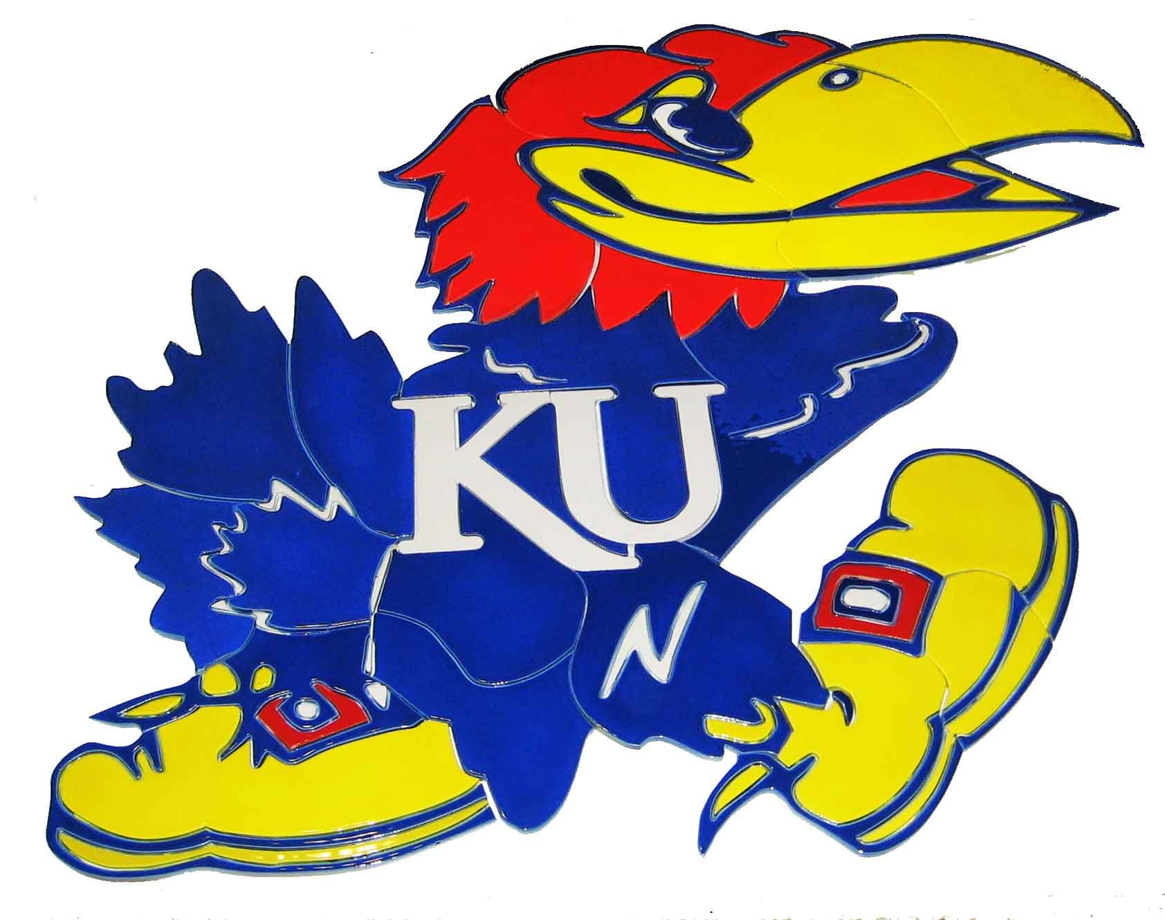 Kansas Jayhawks logo | Kansas basketball, Kansas jayhawks, Kansas day