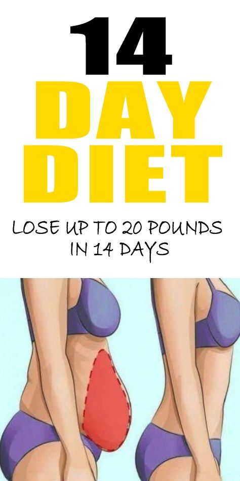 How To Lose 30 Pounds With This 14 Day Diet