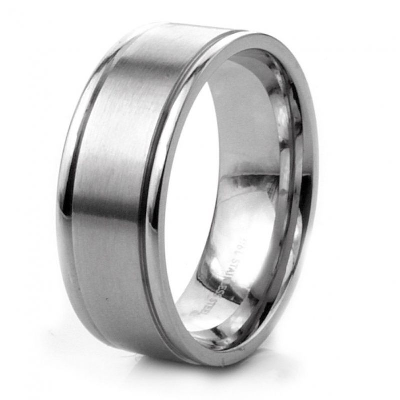 Durability And Affordability Of Stainless Steel Wedding Rings It Is Not Only About The Style But Stainless Steel Wedding Rings Reflect Many Things In Beautiful