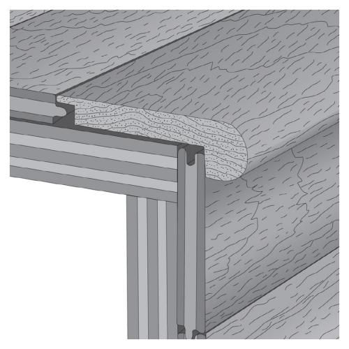 Use Stair Nose Moulding With Flor Tiles On Stairs?