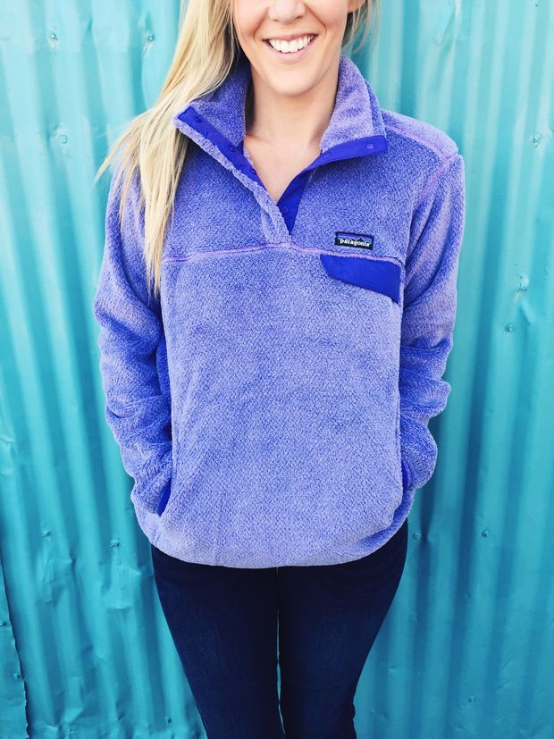 Patagonia Women s Re-Tool Snap-T Pullover- Tundra Purple  9f3d337a8d