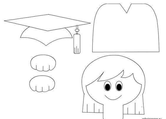 Kepli çocuklar Kesme Boyama Sanat Etkinliği Okul öncesi Etkinlik