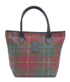 Glenalmond Harris tweed Lulu tote   bags