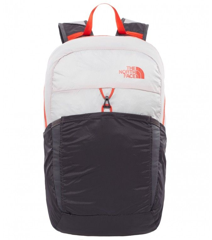 7a37e6b53 The North Face Flyweight Pack Backpack Asphalt Grey/Fiery Red ...