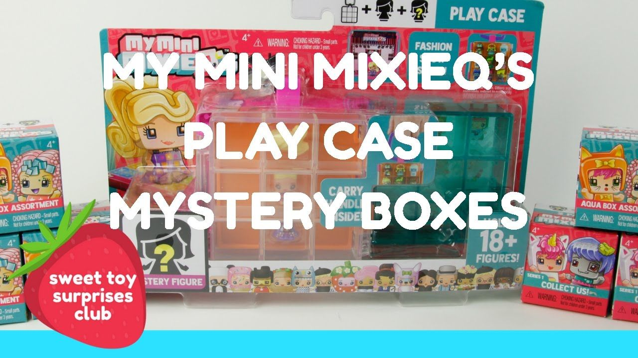 My Mini MixieQ s Play Case & Mystery Boxes