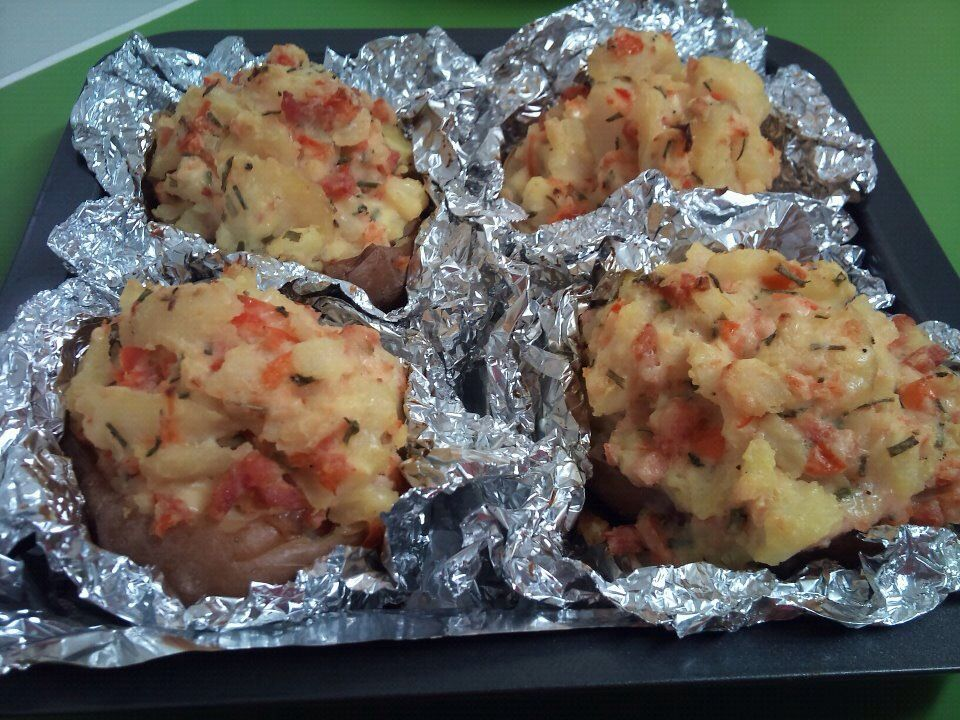 My own version of baked potato