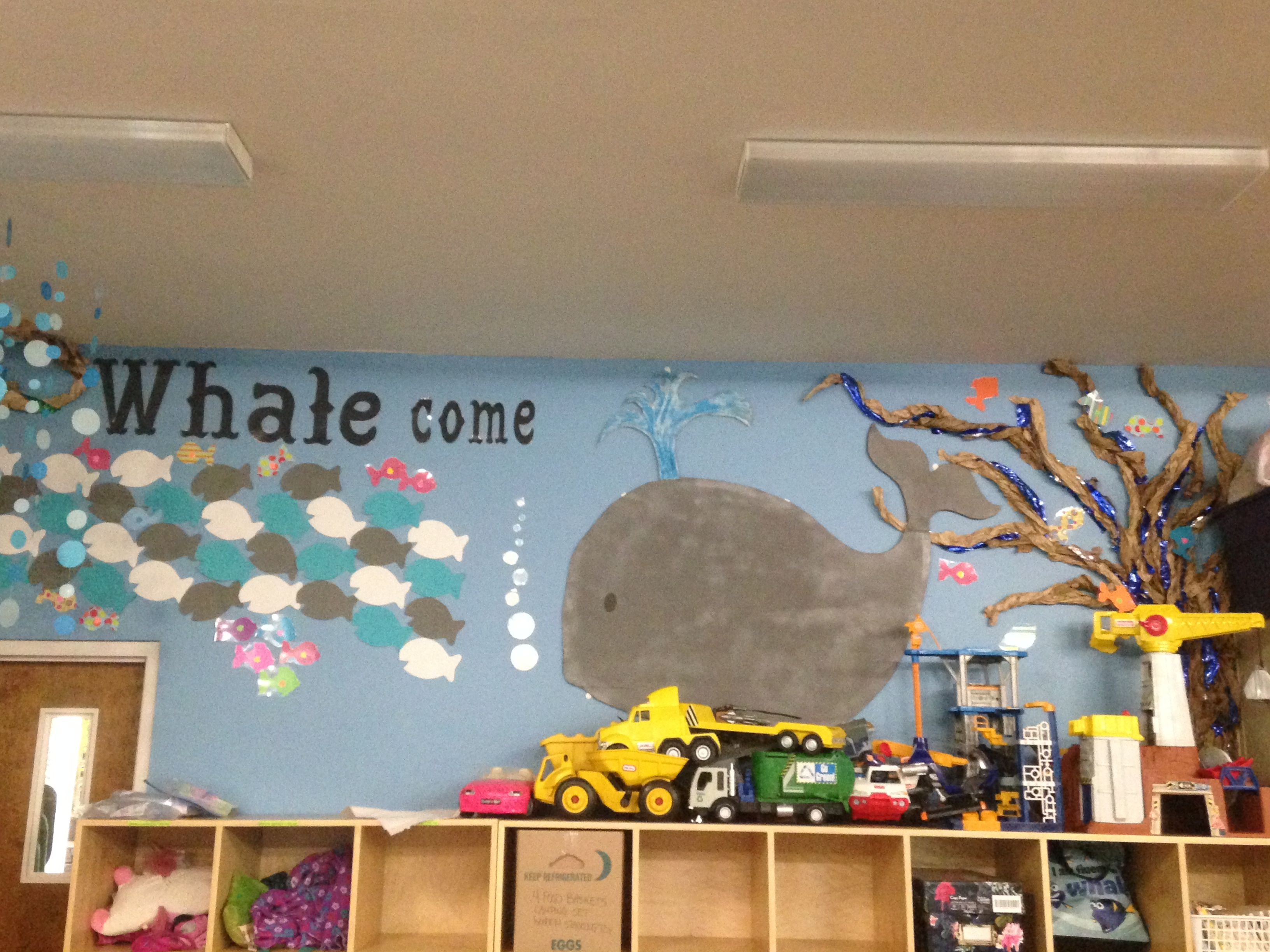 Under The Sea Daycare Decorations Welcome Wall Daycare Decor