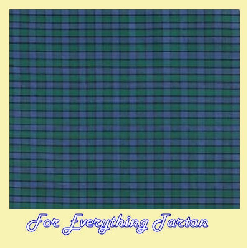 Flower Of Scotland Mini Tartan Dupion Silk Plaid Fabric x 1 metre