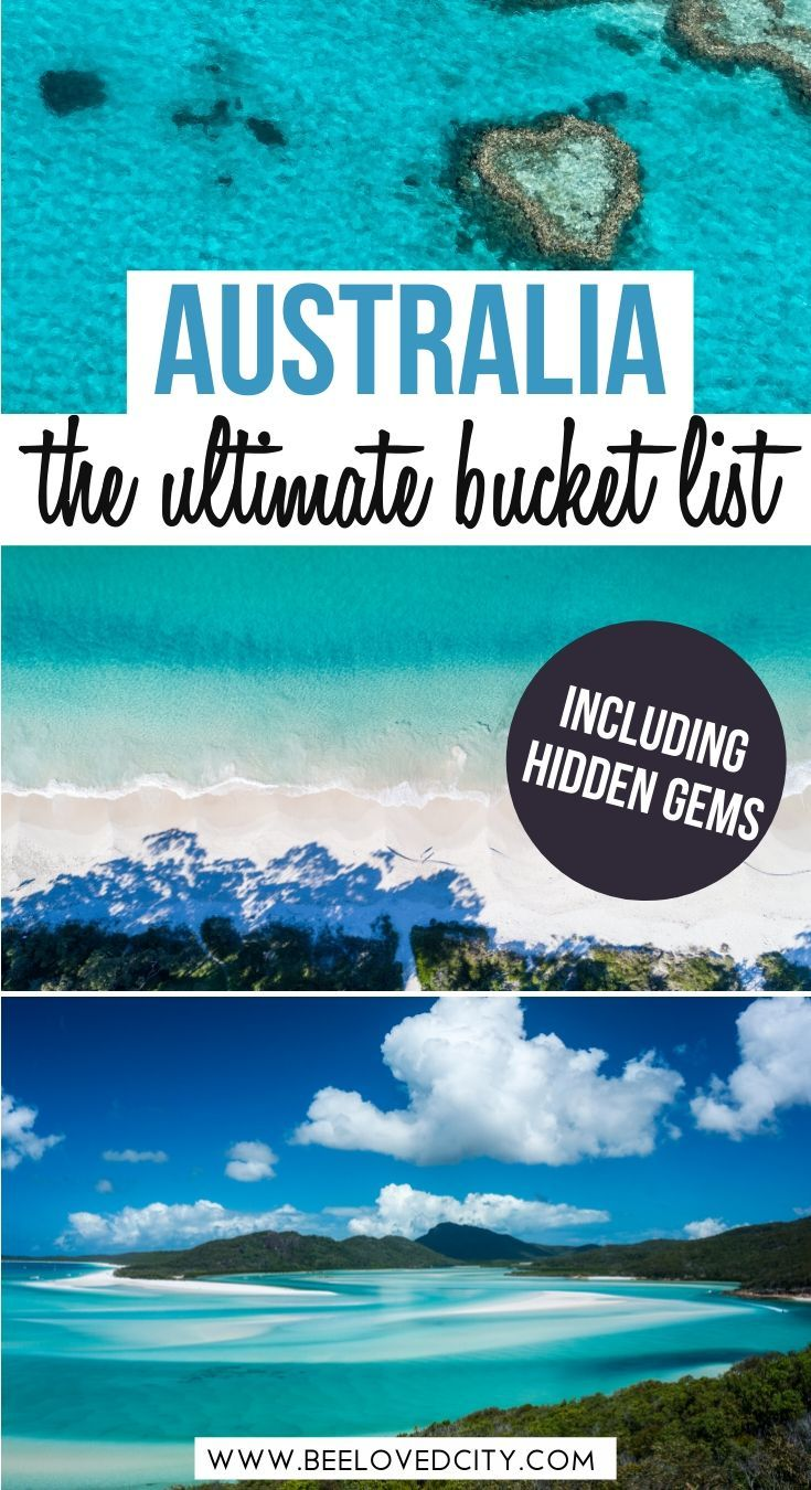 Want to explore more of Australia? Discover the most beautiful places in Australia in this ultimate Australia Bucket List! Sydney, Great Barrier Reef, Great Ocean Road, Uluru... we tell you everything about the best places to visit in Australia! Australia travel guide | Australia beautiful places | Australia travel itinerary | Australia photography | Australia things to do | Australia road trip | Australia travel tips | Australia adventure travel