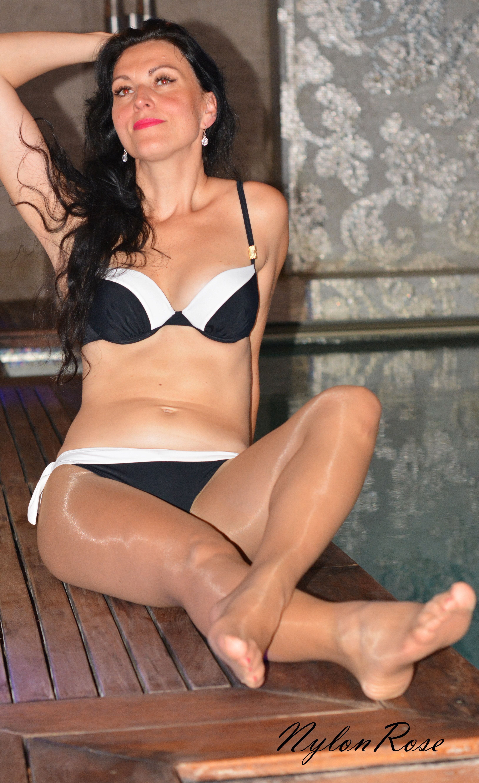 Pantyhose Bikini