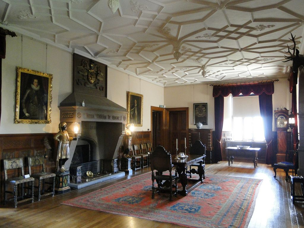 dunster castle, somerset | somerset, castles and palace interior
