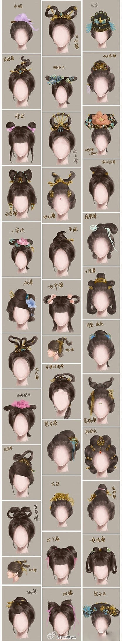 ancient chinese women hairstyle | life in 2019 | historical