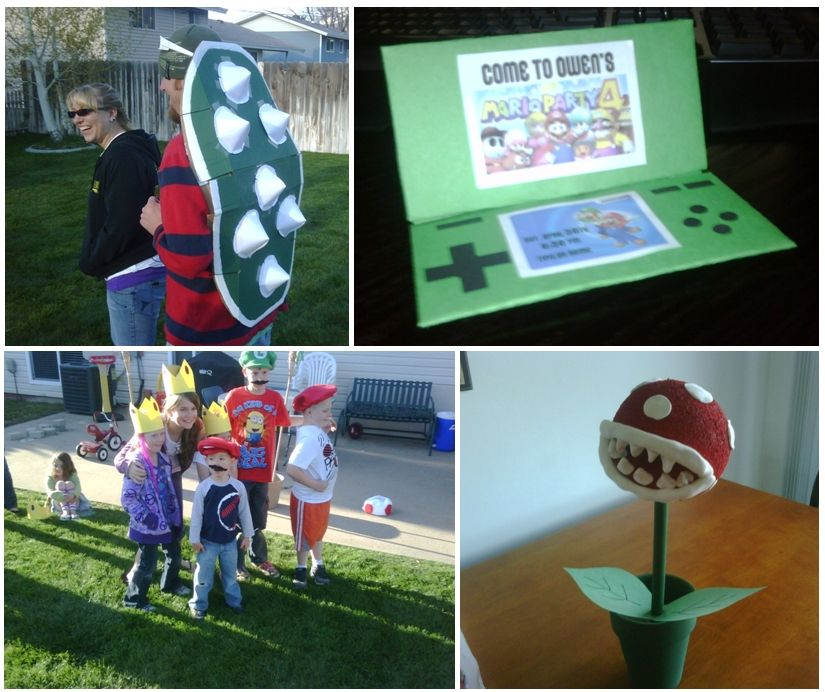 super mario birthday party Party Ideas Pinterest Super mario