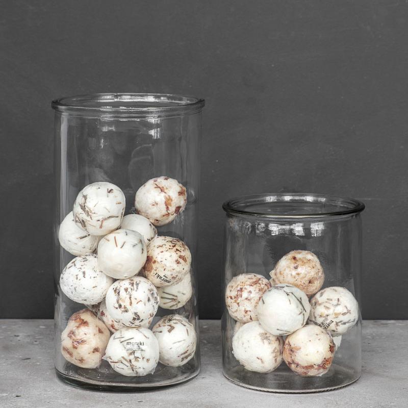 Vase Cylindre | Verre | Transparent | décoration tendance
