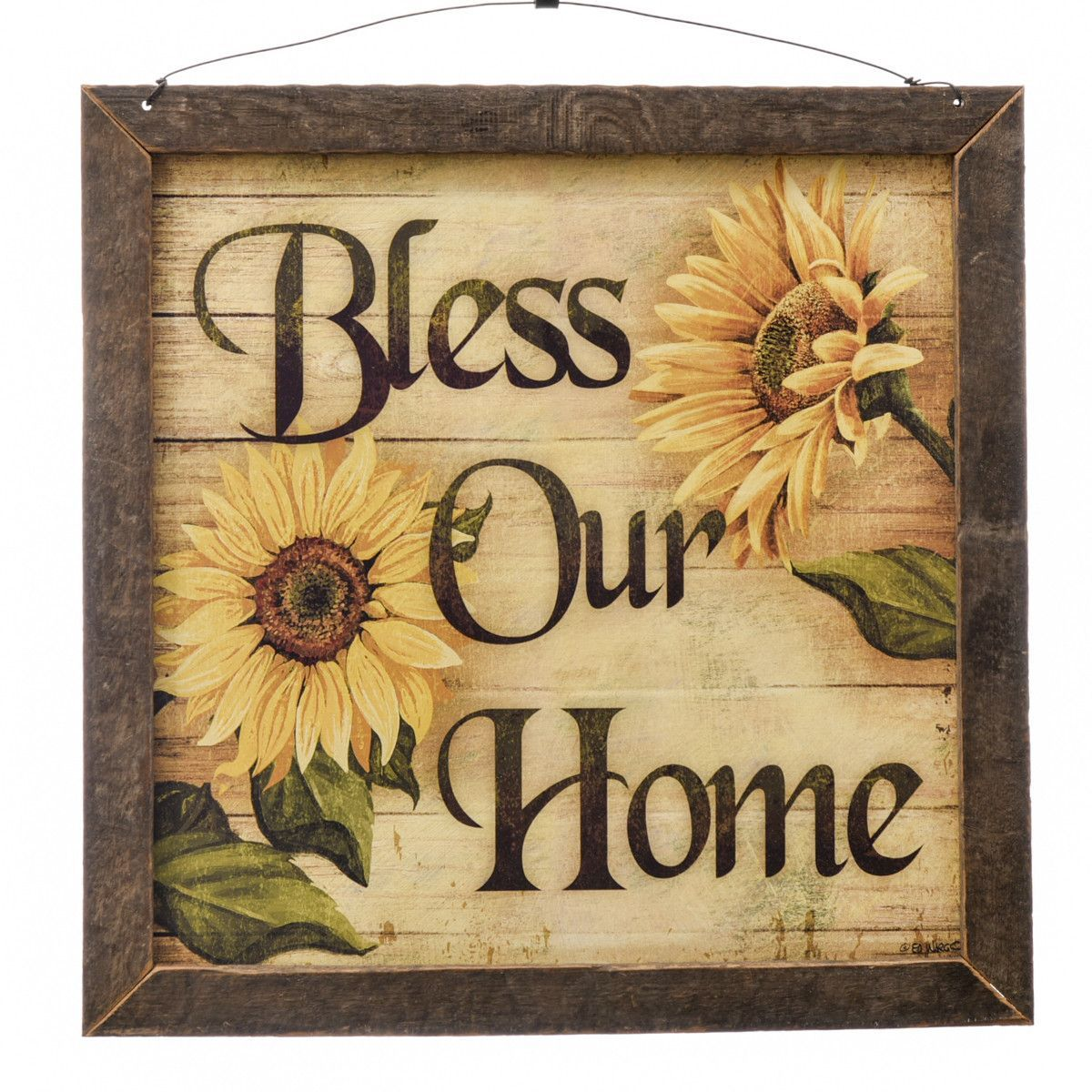 Bless our Home - Wood Prayer Plaque | Products