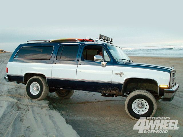 1983 Chevy Suburban Off Road The 1947 Present Chevrolet