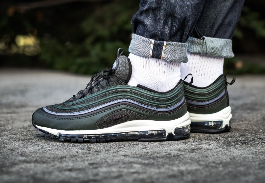 f2edcdc9c5eb8 Nike Air Max 97 Premium Wool Sequoia Perfect For Fall Winter ...
