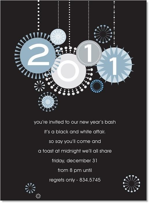 happy new year invitation newyearseve holiday party invitation holiday party themes