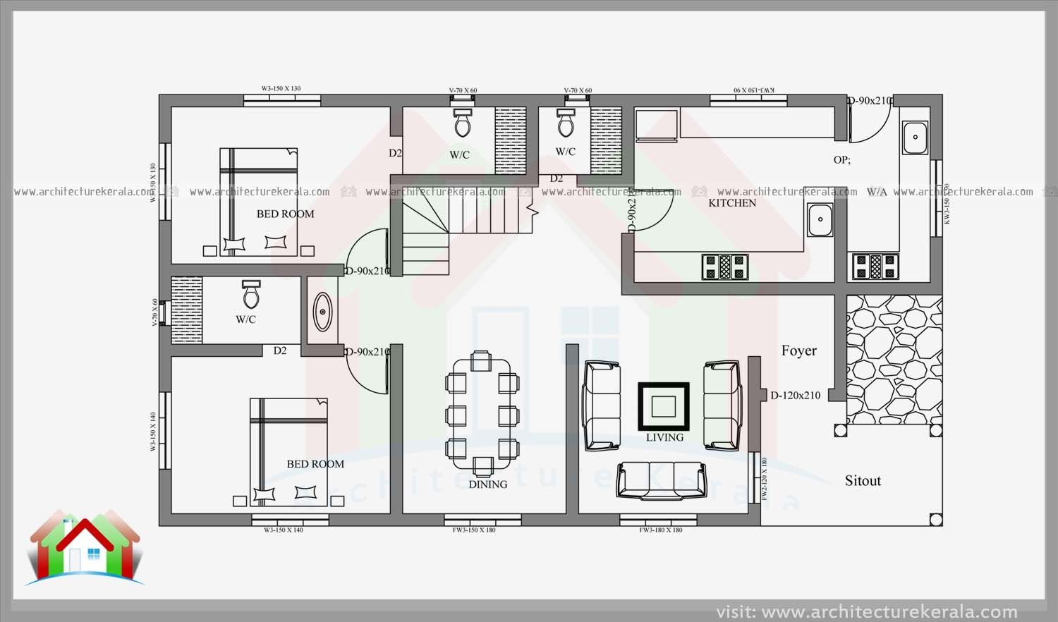 4 bedroom house plans kerala style architect it really