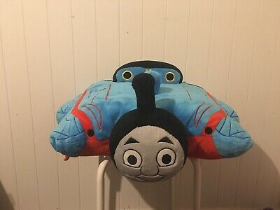 """Details about Pillow Pets THOMAS THE TANK ENGINE TRAIN 16"""" Plush STUFFED ANIMAL Toy"""