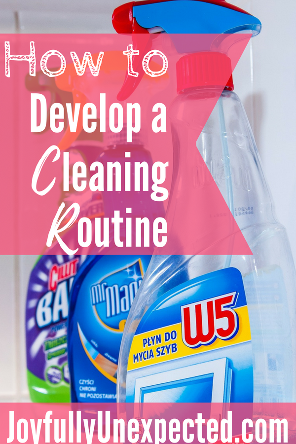 How To Create A Cleaning Schedule Special Needs Mom
