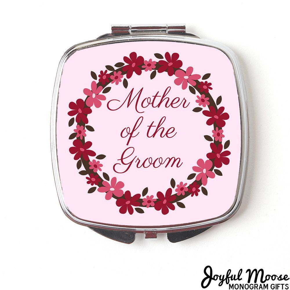Mother of the Groom Compact Mirror - Mother of Groom Gift - Wedding ...