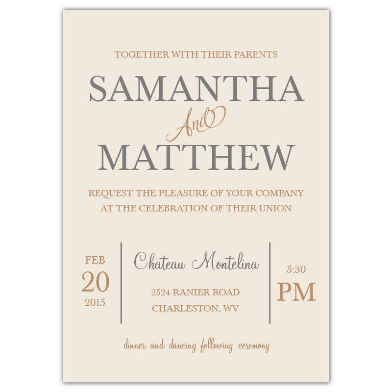 Wedding Invitations Invites
