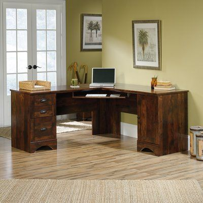 Beachcrest Home Pinellas L Shape Computer Desk