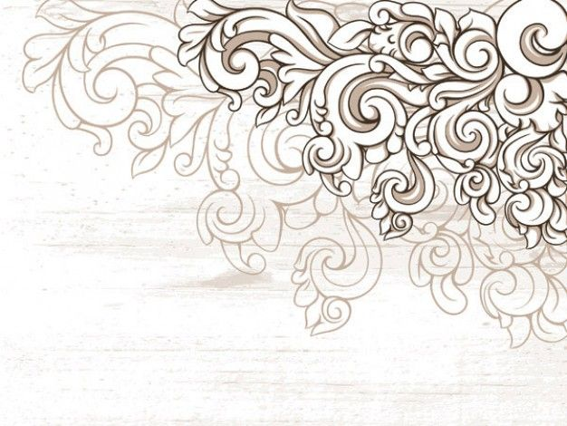 swirly lace to embroider (free clip art in .ai format)