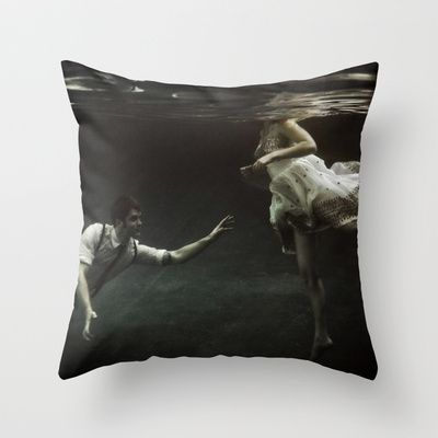 Abyss Of The Disheartened X Throw Pillow By Heather Landis 20 00 Throw Pillows Pillows Threw