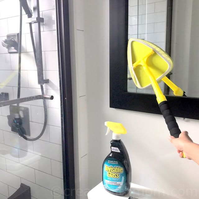 We Can Stop Cleaning Up After Our Glass Cleaner With Invisible