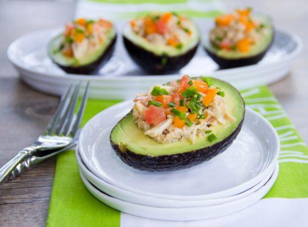 Crabmeat Salad Stuffed Avocados