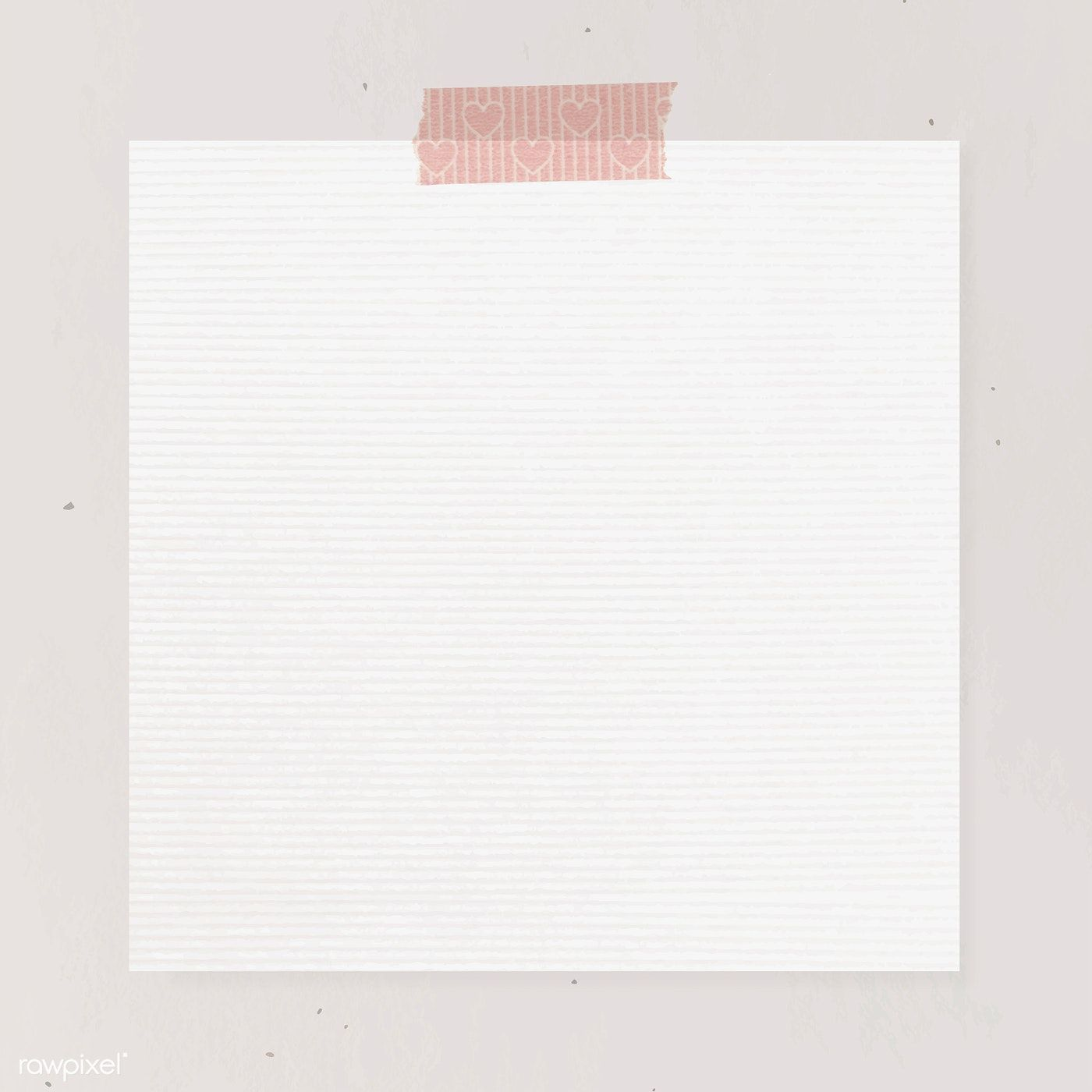 Blank Paper With Washi Tape Template Vector Premium Image By Rawpixel Co Powerpoint Background Design Watercolour Texture Background Paper Background Texture