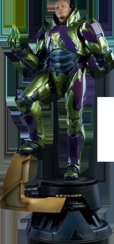 Lex Luthor Power Suit Premium Format Figure Lex Luthor Dc Comics Power Suit