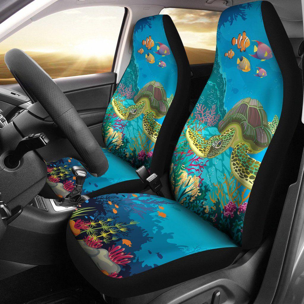 Sea Turtle Car Seat Cover Turtle car, Car seats, Small