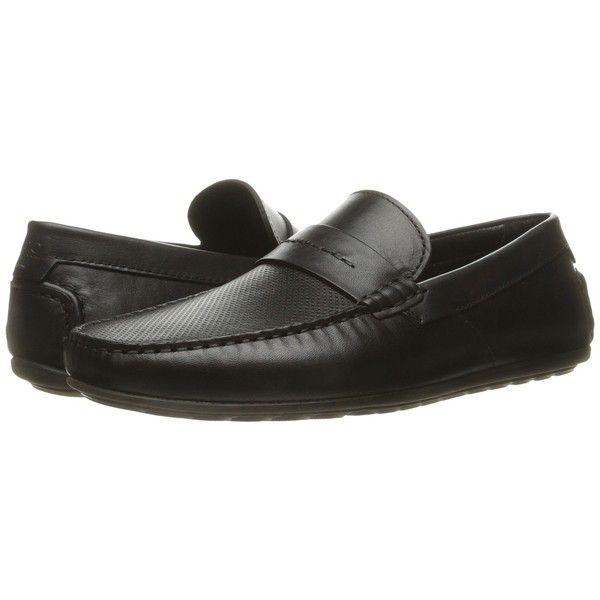 2161742a1fe BOSS Hugo Boss Travelling Dandy Moccasin (Black) Men s Shoes (€195 ...