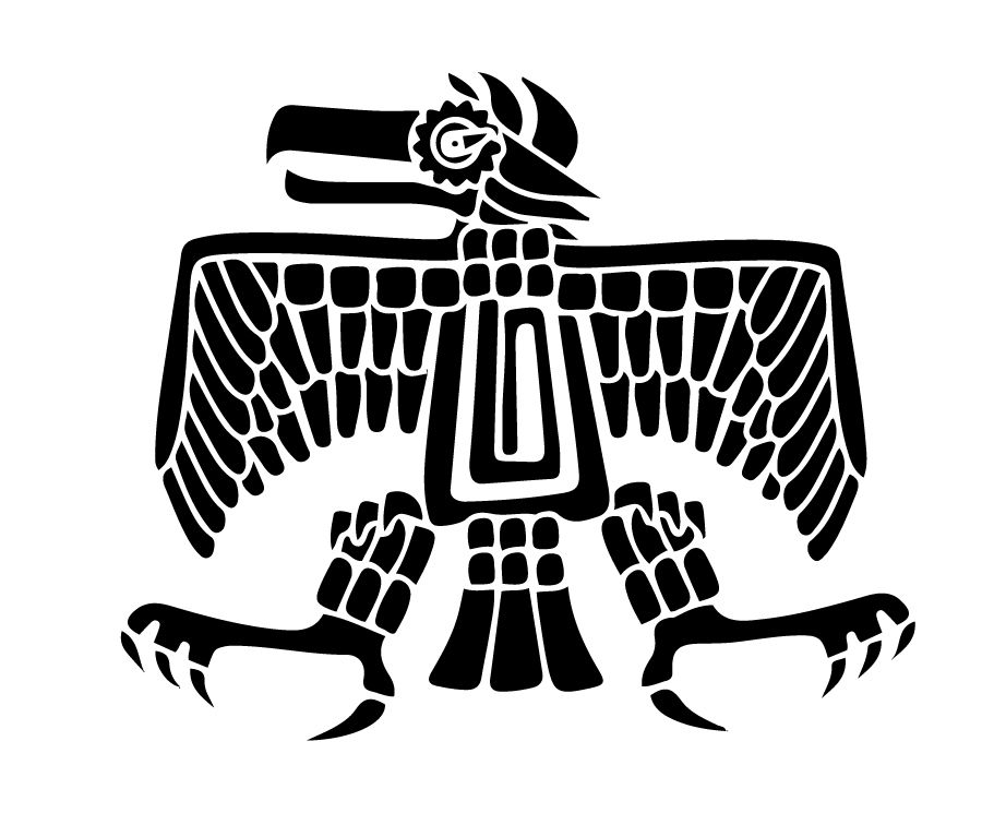 Aztec Eagle - Symbol Of Strength