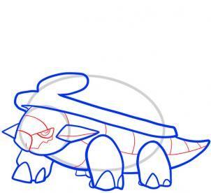 Pokemon Characters Torterra Online Coloring For Kids Pokemon Characters Free Online Coloring