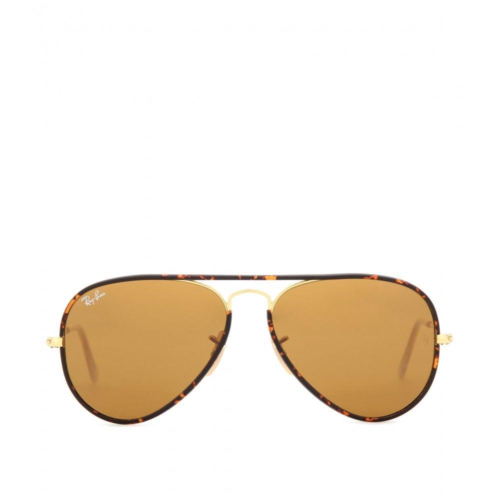 f1b8e6ee5ec30 Ray-Ban Aviator Full Color 55 Sunglasses