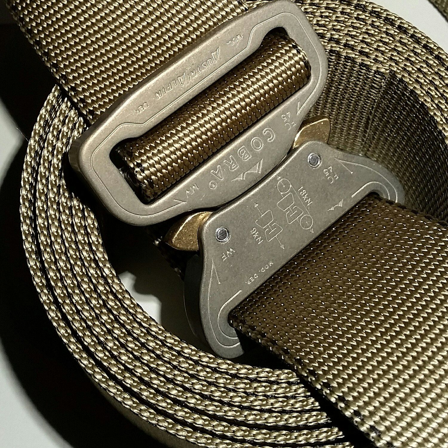 Duke men s strong buckle jeans cargo amp trouser rawhide leather belt - The Heavy Gunner The Perfect Gun Belt 1 75 Cobra Buckle Tactical Concealed Carry Belt For Every Day Carry